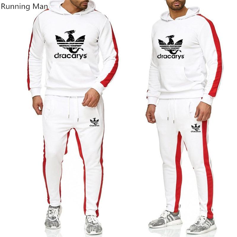 2019 Men's Hoodie And Pants Two-piece Spring And Autumn Suit Sports Suit Men's Casual Suit Batman Suit Ski Suit