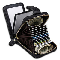 Luxury Genuine Leather Driver License Cover Car Driving Documents Bag Business ID Credit Card Holder Case