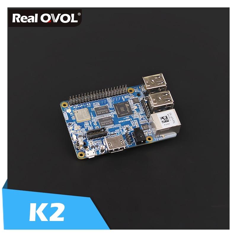 NanoPi K2 Development Board Kit Amlogic 64bit quad-core A53 S905 SoC 2GB DDR3 RAM with onboard IR receiver&RC100 remote control