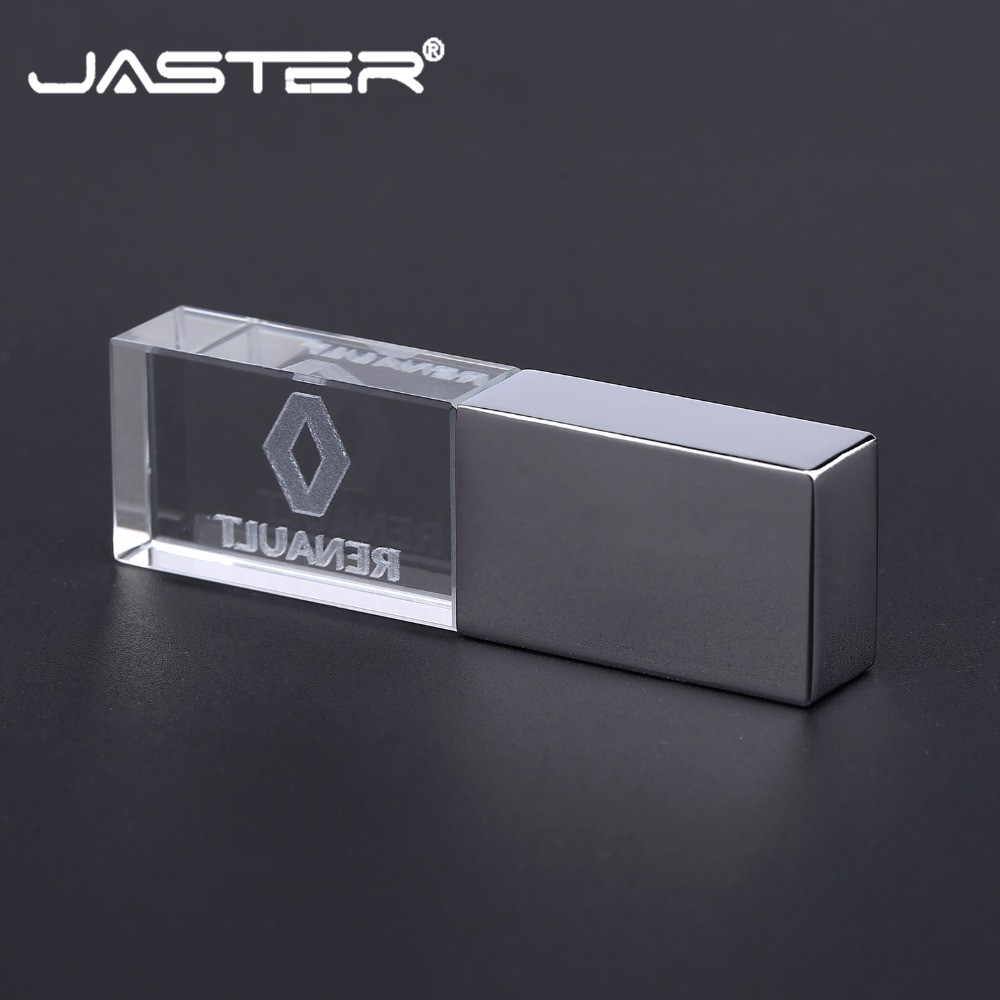 JASTER Memory-Stick U-Disk Usb-Flash-Drive Pendrive 4gb Crystal Renault External-Storage