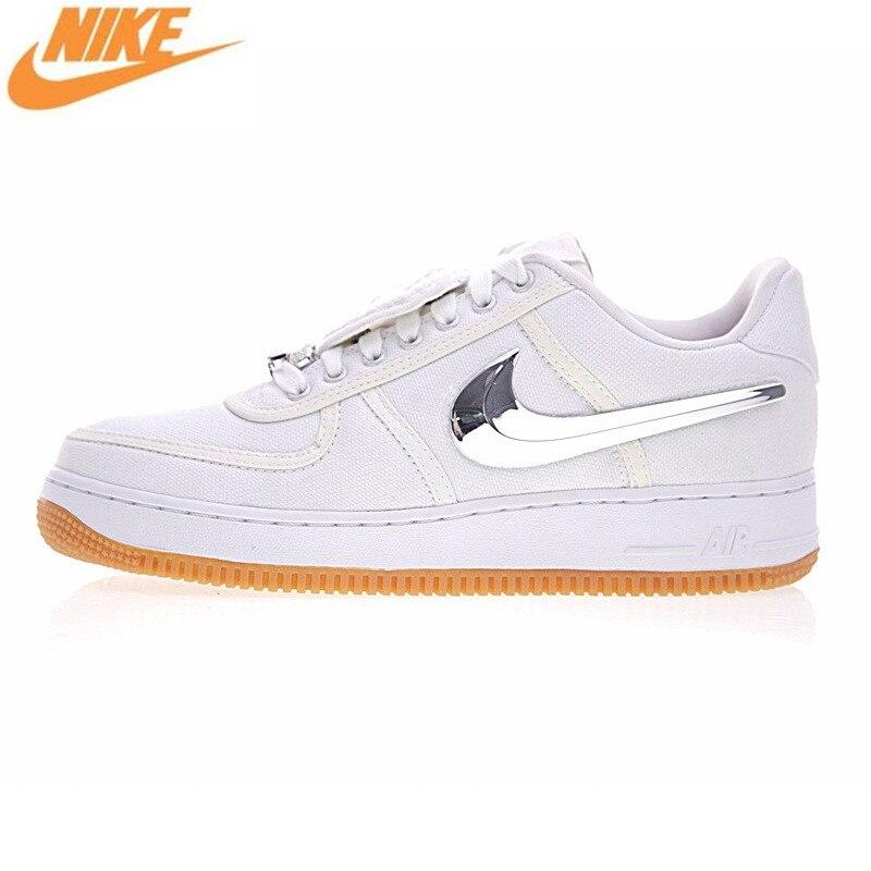 Nike Air Force 1 Bas Travis Scott Hommes Planche À Roulettes Chaussures,  Sport Sneaker Chaussures, Blanc Couleur AQ4211 100 dans Planche à roulettes  ...