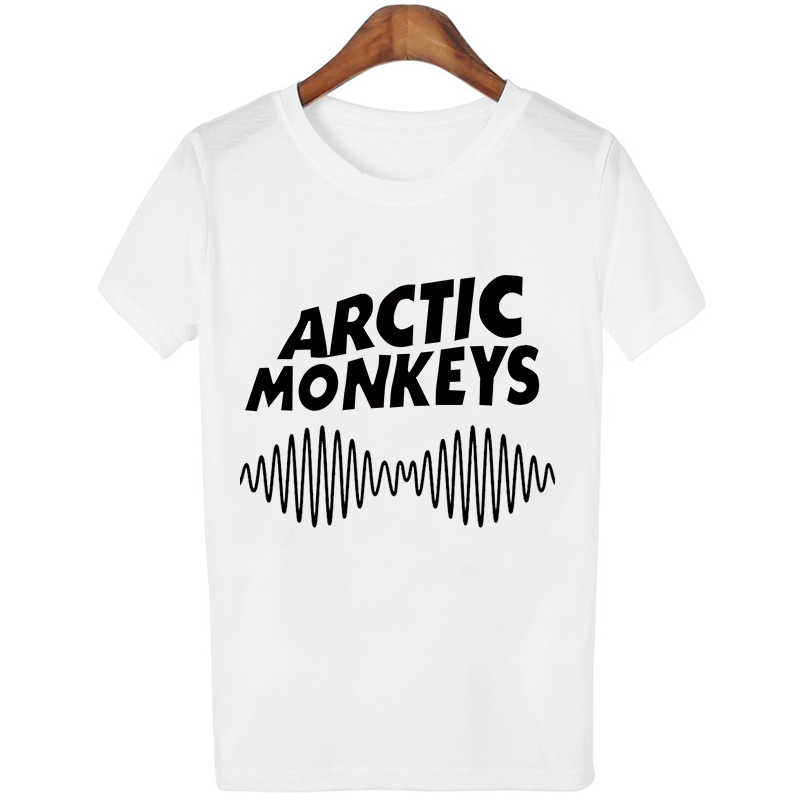 0f7a05a9b7 Arctic Monkeys letter shirts women plus size graphic tees women tops  ulzzang tshirt harajuku punk print