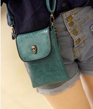 Women's small messenger bag spring skull handbag skull one shoulder mini cross-body bag women's mobile phone key bag coin purse