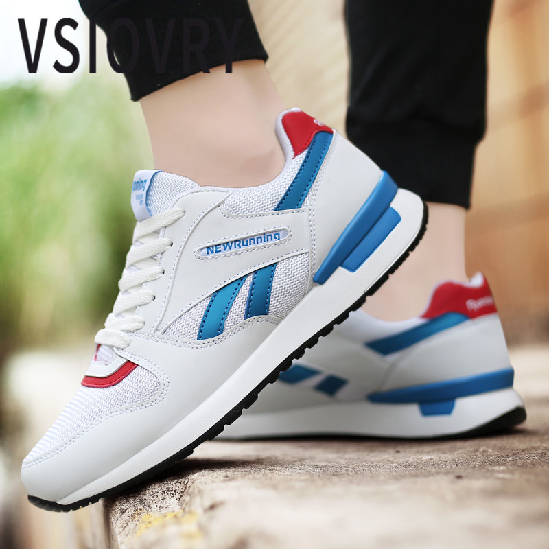 Sneakers 100% True Vsiovry Spring Summer Trend Men Running Shoes Suede Breathable Sneakers For Men Outdoor Walking Sport Shoes Lightweight Krasovki Latest Technology Sports & Entertainment