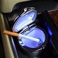 Araba araba küllük kemer led araba aydınlatma küllük moda oto malzemeleri