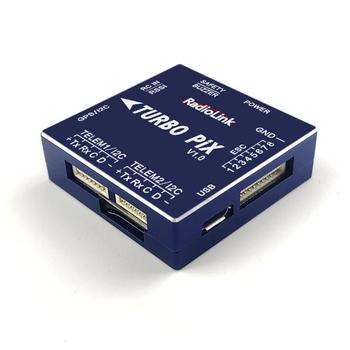 LeadingStar RadioLink TURBO PIX V1.0 Module PPM SBUS Flight Controller MPU6500 w/ 6pcs SUI04 Ultrasonic Ranging Sensor Transceiver for RC Drone