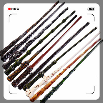 цена на New Top Quality Severus Snape Magic Wand With Gift Box Cosplay Game Prop Collection Potter Toy Stick