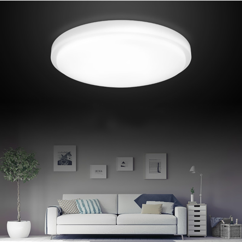 Simple modern home LED ceiling lights living room balcony lamps round bedroom light indoor lighting night light fumat modern minimalist bedroom ceiling light corridor balcony glass lampshade light kitchen round metal ceiling lamps