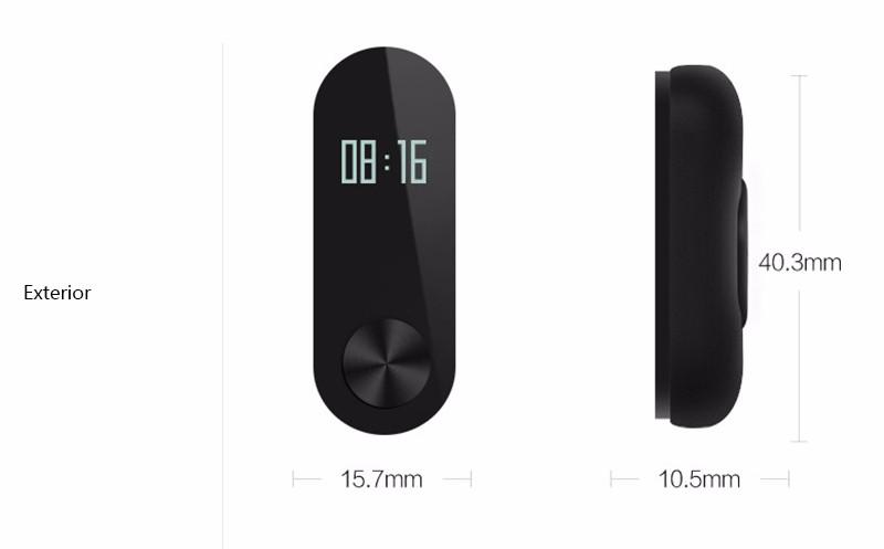 Oryginalny xiaomi mi kompania 2 miband bransoletka wistband inteligentnego tętno fitness ekran oled wyświetlacz dla iphone 7 touchpad bluetooth 30
