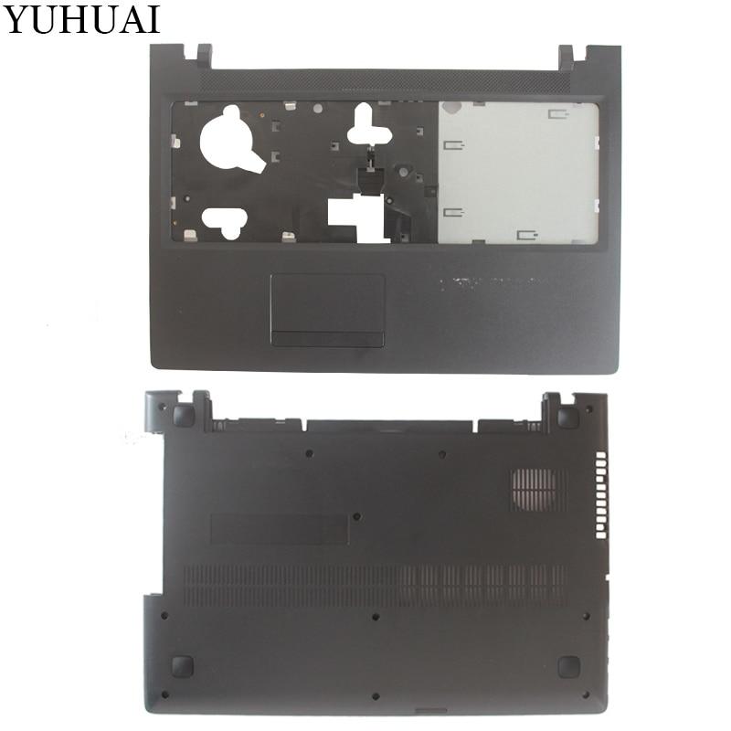 New Case Cover  For Lenovo 100-15 100-15IBD B50-50 Palmrest COVER AP10E000600/Lower Laptop Bottom Case Cover AP10E000700