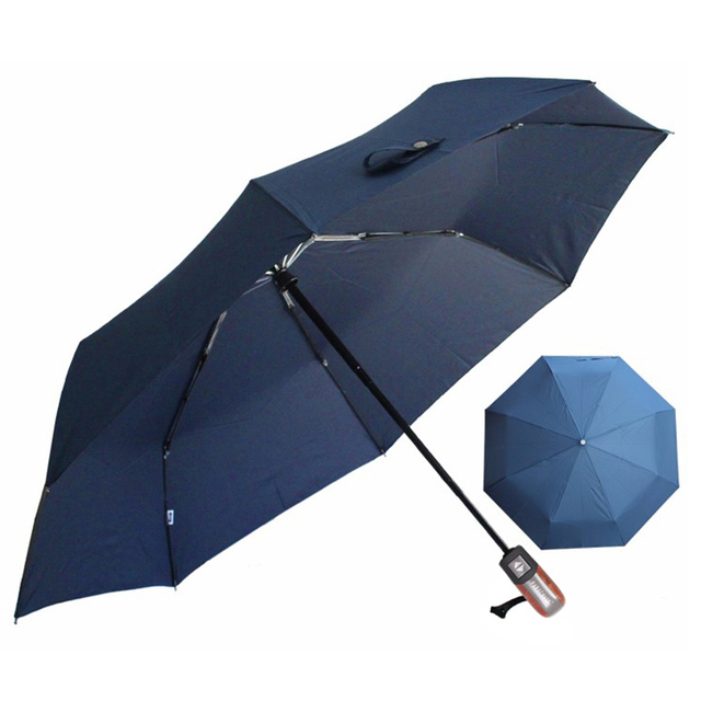 Automatic folding umbrella men rain quality windproof uv large paraguas male stripe parapluie 4 colors recommend