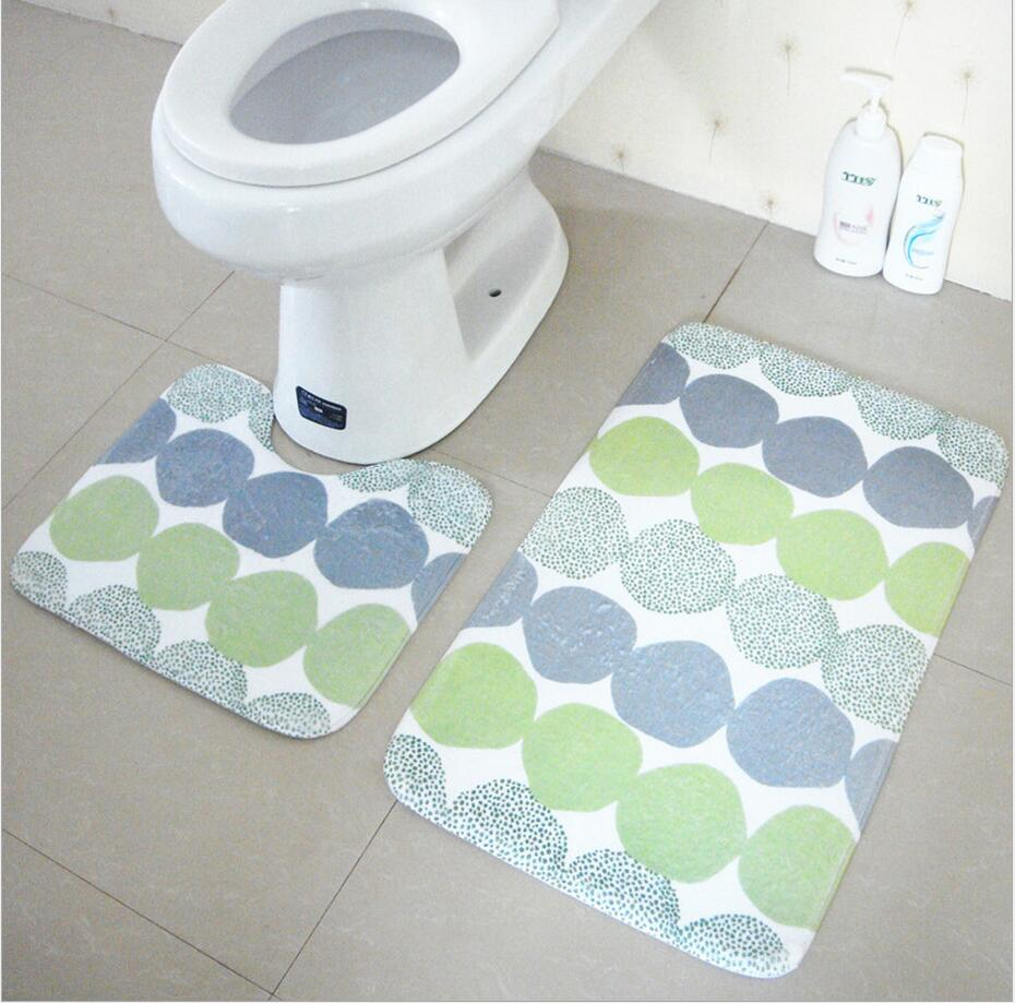 mats pedestal rug lid toilet cover and bath mat non slip home decor