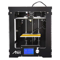Anet A3 3D Printer 150 x 150 x 150mm High Precision Full Aluminum Plastic Frame Assembled LCD Display Support 16GB TF Card Gift