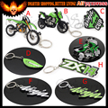 6Pcs New Motorcycle Motorbike Model Key Chain For KAWASAKI Cool Keyring Keychain