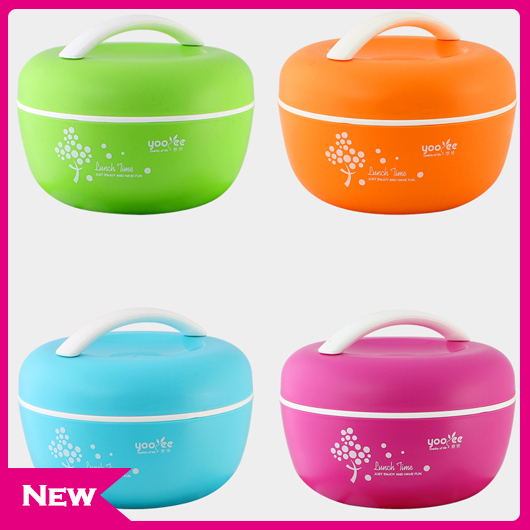 4 Color High Quality Apple Bento Lunch Box For Kids Lunchbox Food Container Thermos For Food