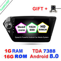 Funrovr Quad Core Android 8 0 Car DVD GPS 9 Inch HD 1024 600 Screen For
