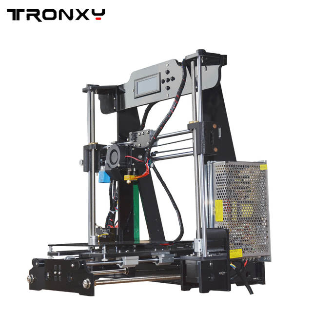 US $163 4 24% OFF Auto level 3D printer DIY kits automatic leveling melzi  marlin firmware with PLA filament 8GB SD card for free-in 3D Printers from