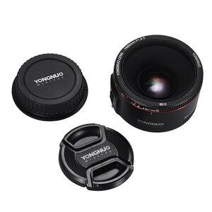Image 3 - YONGNUO YN50mm YN50 F1.8 II Camera Lens EF 50mm AF MF Lenses For Canon Rebel T6 EOS 700D 750D 800D 5D Mark II IV 10D 1300D