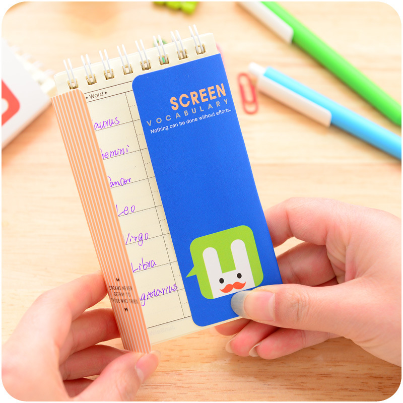 Cadernos livro notepad The Text of The Paper Size : 13*8 cm