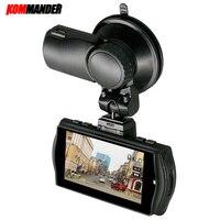 Kommander GPS Car DVR Car Camera Night Vision DVR for Car Camera Ambarella A7LA70 FHD 1296P 60FPS Recorder Dash Cam