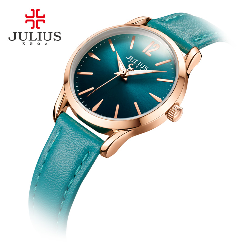 2017 JULIUS Watch Men Retro Design Leather Band Quartz Wrist Watch Relogio Masculino Montre Homme Watches Women Fashion Quality fabulous 1pc new women watches retro design leather band simple design hot style analog alloy quartz wrist watch women relogio