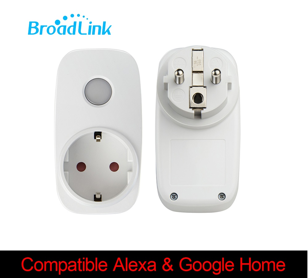 Broadlink sp3 contros for Alexa Google home smart remote socket outlet 3G 4G wifi socket plug IOS Android smart home automation