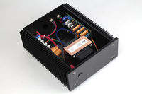 ZEROOZNE Finished 12V @5A + 12V @5A 2 way Ultra low noise Linear power supply L8 19
