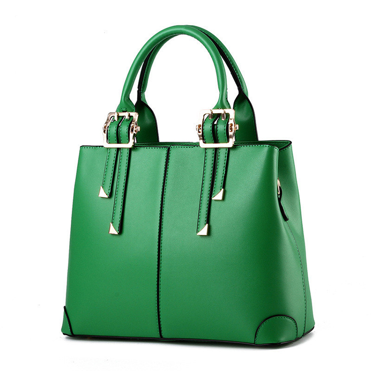 2018 New Bags for Woman Elegant Classic Fashion Ladies Occident Style Handbags Solid Color Yellow Pink Green Red Black Totes free shipping new fashion pu black yellow pink candy color mini women simple cheap messange bags handbags bb015