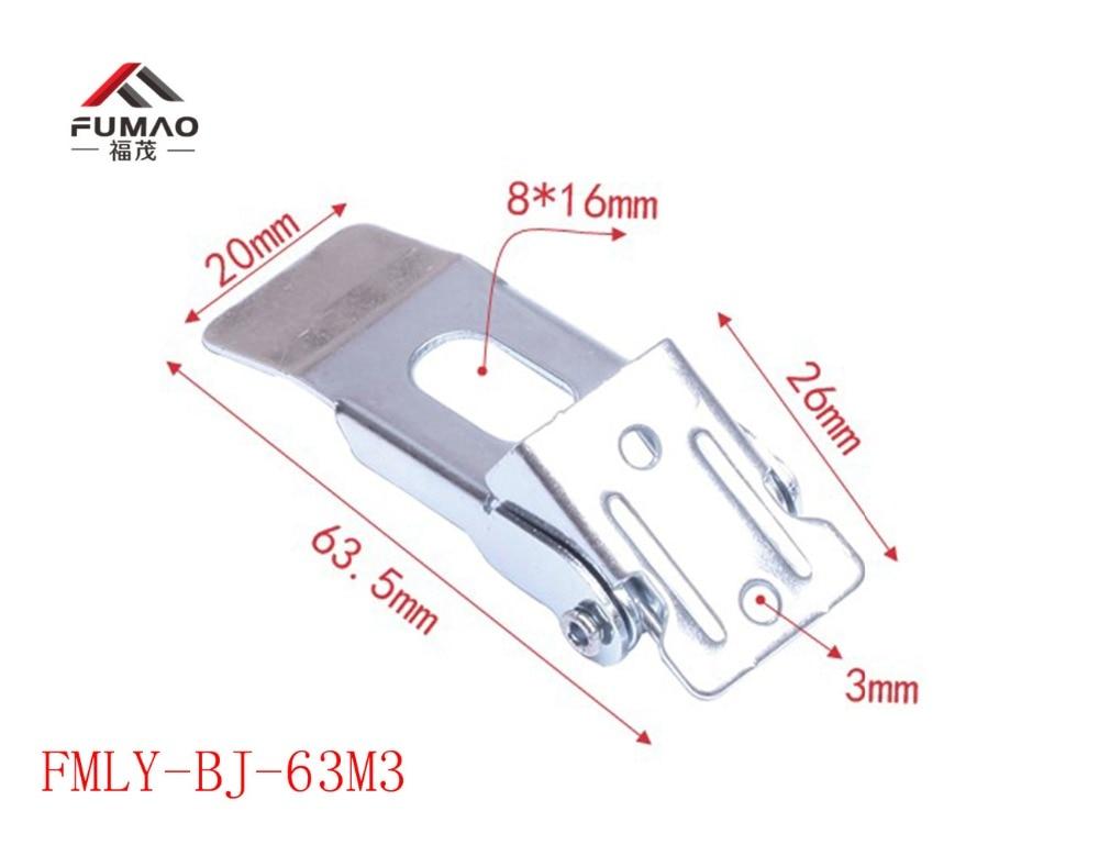 Купить с кэшбэком Manufacture 55 springs clip fasteners for led panel