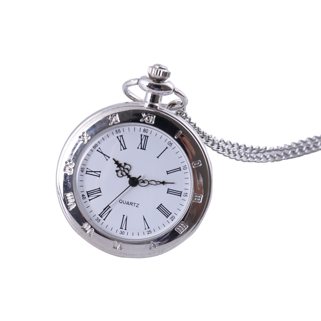 Couple Pocket Watch Retro Quartz Hanging Table Commemorative Table Pocket Watch Man Woman Kid Gift Necklace Clock Couple Old Man