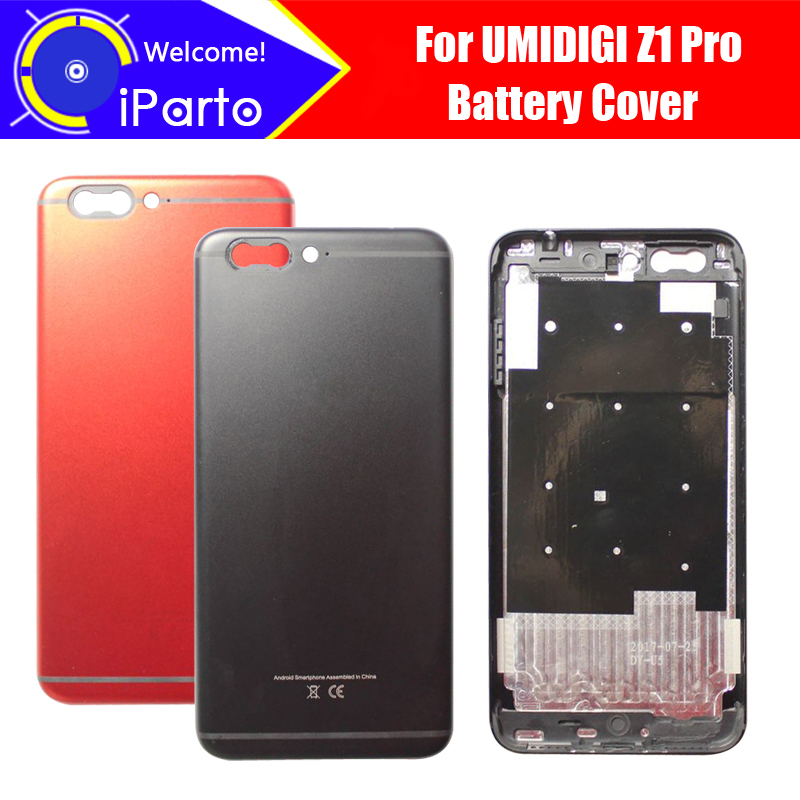 5.5 inch UMIDIGI Z1 Pro Battery Cover 100% Original New Durable Back Case Mobile Phone Accessory for UMI Z1 Pro