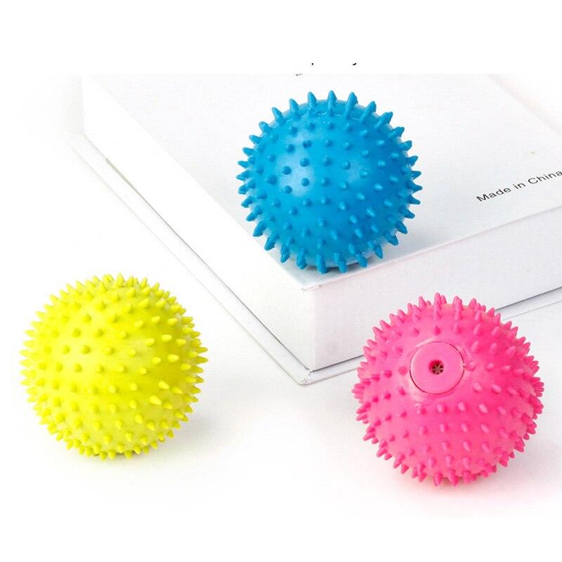 TPR мяч игрушки для собак скрипучий, Игрушки для маленьких собак Щенок чистке зубов устойчивы к укусить моляров собака аксессуары домашних ж...