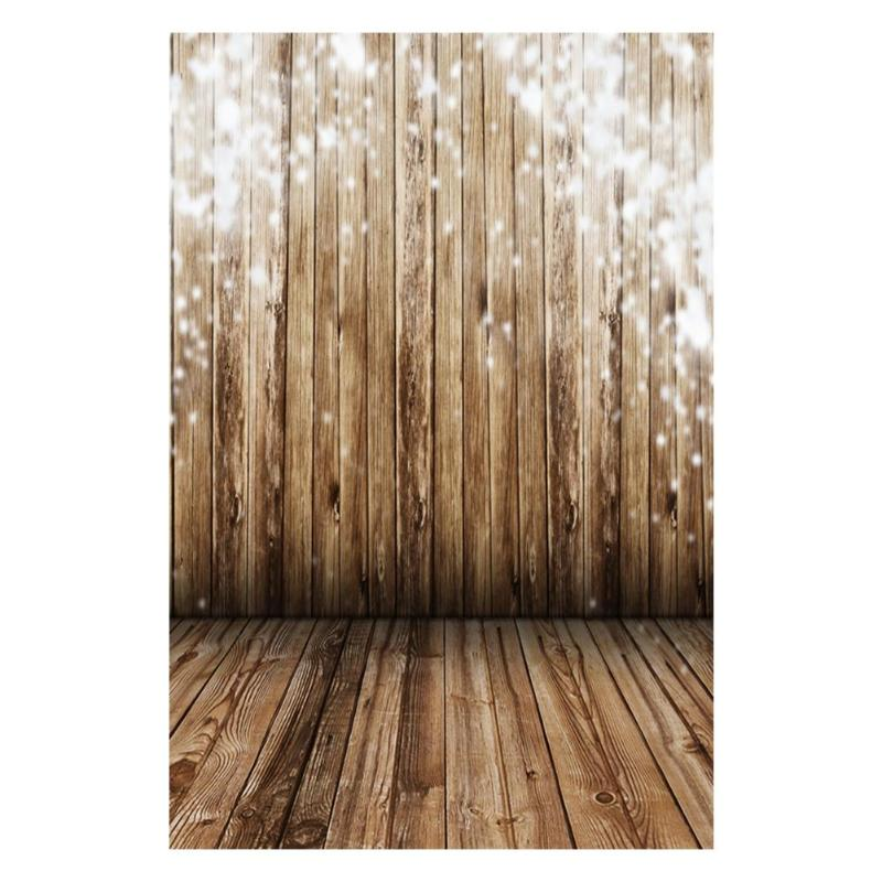 ALLOYSEED Simple Wood Floor Wall Photography Backdrop Newborn Baby 3D Digital Vinyl Photographic Photo Background Props Decors huayi 4pc 2x2ft wood floor brick wall backdrop vinyl photography backdrops photo props background small object shooting gy 019