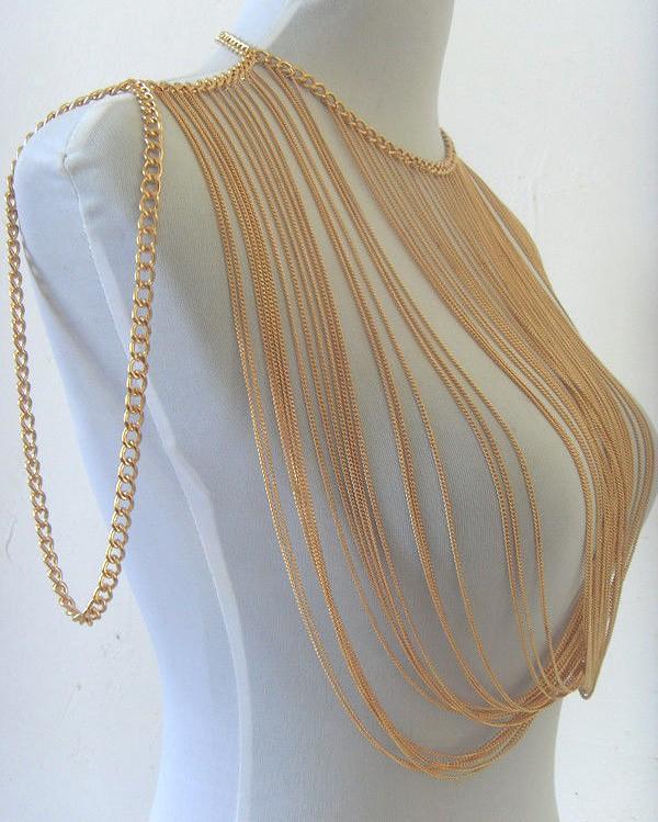 HTB1fbgaGFXXXXaoaXXXq6xXFXXXH Multilayer Tassel Shoulder Harness Body Necklace