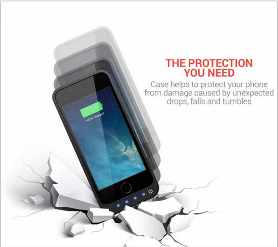 NENG 4200mAh חיצוני סוללת כוח טעינת מקרה עבור iPhone 5 5S 5c SE כוח בנק חיצוני גיבוי סוללה עם מעמד