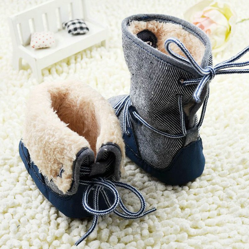 Newborn-Toddler-Baby-Boy-Girl-Winter-Warm-Fur-Snow-Boots-Stripes-Soft-Sole-Booties-First-Walkers-4