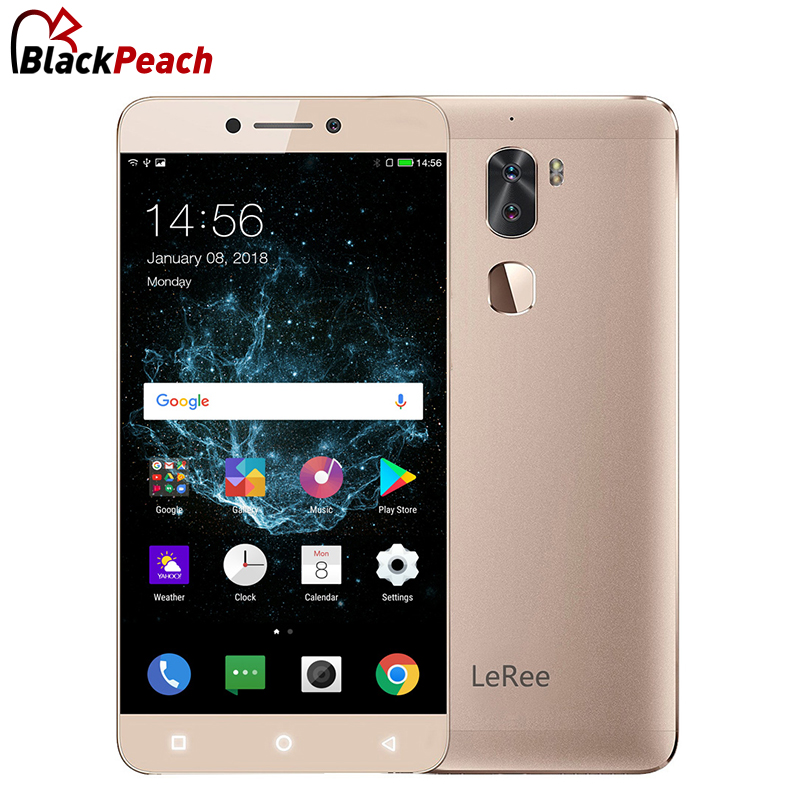 Original Letv Leree le3 5.5 Snapdragon 652 Octa Core 3GB+32GB Dual Rear Camera 13MP+13MP 4000mAh 4G Mobile Phone Android 6.0
