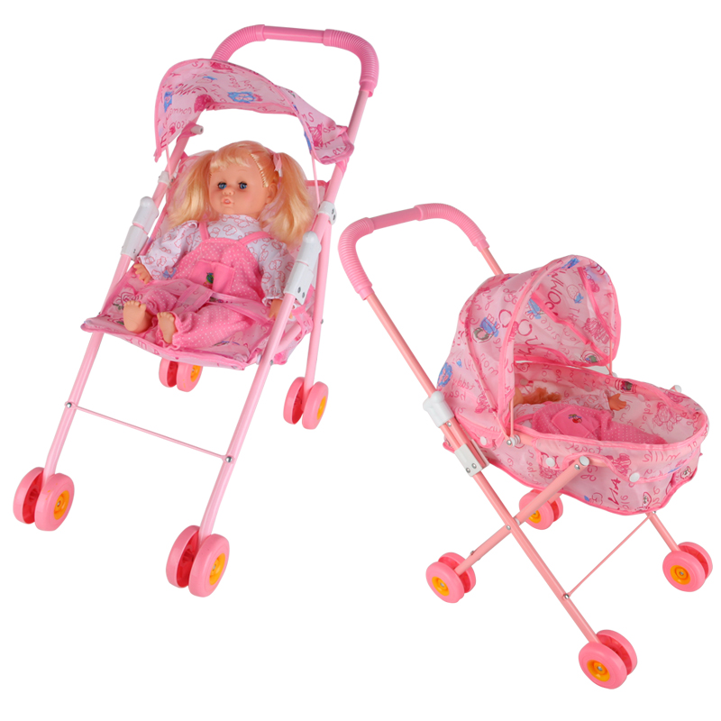 Free Shipping Kid Connection Baby Doll Stroller Play Set