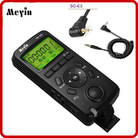 Meyin TW 836 E3 Wireless LCD Shutter Release Timer Remote Control For Canon 60D 70D 600D