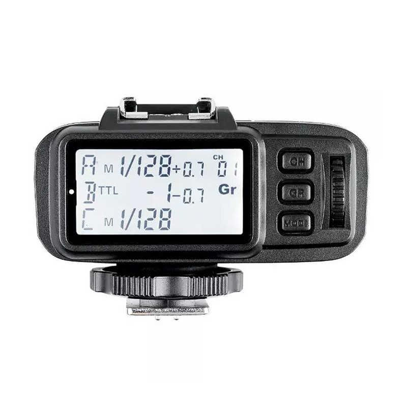 Godox 2x XTR-16S Draadloze 2.4g Power Control Flash Ontvangers + X1T-N Draadloze Zender Voor Nikon V850 V860C V860N Flash