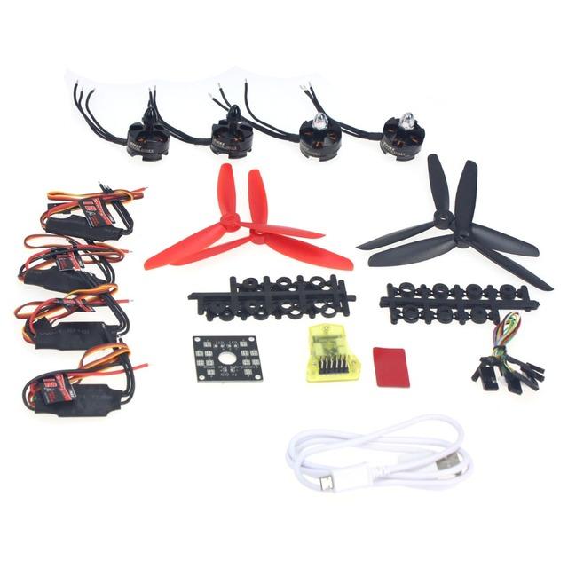 F12065-V RC HexaCopter ARF Electrónico: MT16-S EMAX 12A ESC Motor Sin Escobillas KV2300 Simon Opensource de Control de Vuelo para MINI CC3D