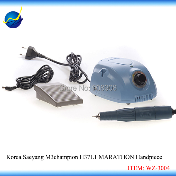 Original Korea SAEYANG Champion Marathon H37L1 Handpiece Micromotor for Mould Polishing Dental Grinding Wood Walnut Jade Carving original korea saeyang marathon handpiece h37l1 sh37ln components micro drill three spring 3 0mm collect chuck dental laboratory