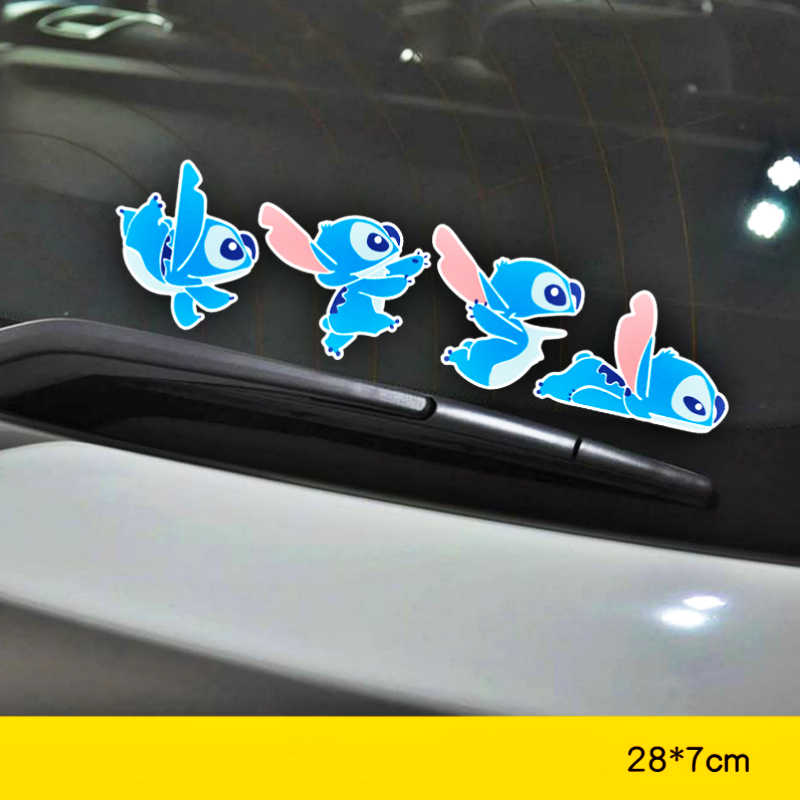 Aliauto Decorazione Dell'automobile Del Fumetto Del Punto Sticker Cover Graffi Decalcomania per Hyundai Accent I30 I35 Santa Fe Solaris Elantra Parti