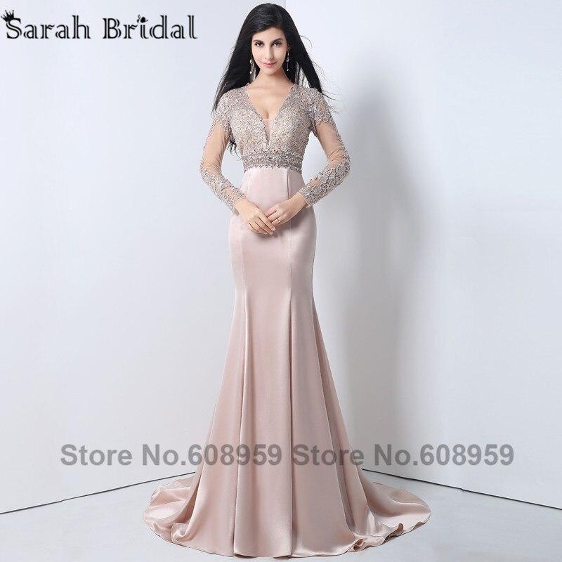Online Buy Wholesale full sleeve prom dress from China full sleeve ...