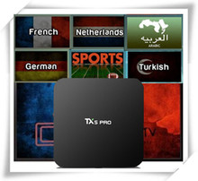 TX5PRO With French/Arabic/Netherland/Turkish/India/EX-YU/UK/CA/Africa/Germany/Swenish/Portugal IPTV VOD set top box media player pashagin andrey geokhimiya rodnikovykh vod tuvy