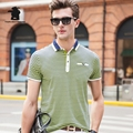 2017 Summer New men's Short Sleeve Polo Shirts Fashion Printing Plus Size Business Casual Polo Shirts Men M~3XL C15D8031