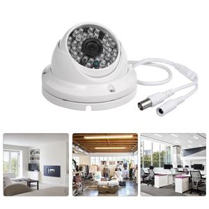 "Image 5 - CCTV Camera 1/3 ""CMOS Kleur 1080 P Hoge resolutie 24 Lampen Nightvison Indoor Dome Camera Analoge Security Camera"