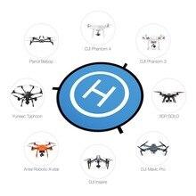 PGYTECH DJI Spark Koruyucu Hızlı kat Drone Landing Pad Mavic Pro Phantom 2 3 4 inspire 75 cm istasyonu Önlük Taşınabilir Dökün