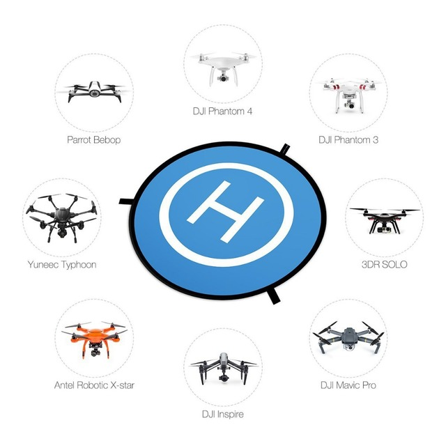 PGYTECH DJI Spark Protective Fast fold Drone Landing Pad For Mavic Pro Phantom 2 3 4 inspire 75cm Station Apron Portable Pour