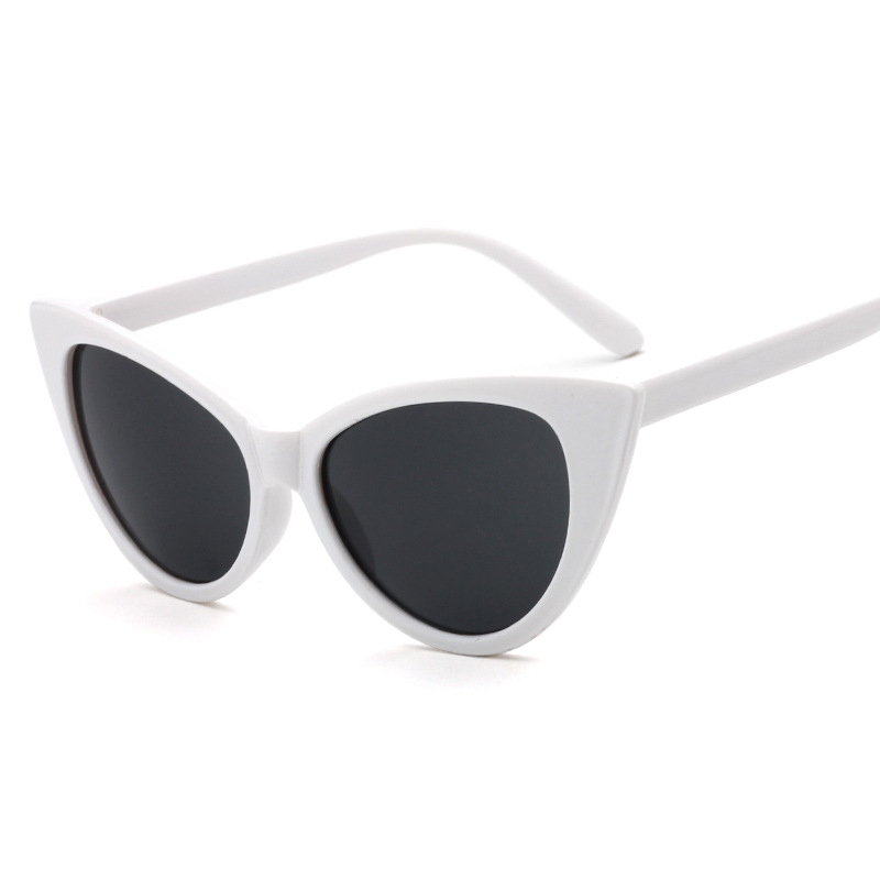 New Fashion Cat Eye Sunglasses Wanita Merek Desainer Kacamata - Aksesori pakaian - Foto 3